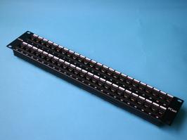 E-PLU-48D-OO Патч-панель (Patch-panel) 19' 48 портов, категория 5е, у.