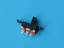 Переключатель мини 3 конт. тип5, с резьбой, L=6мм