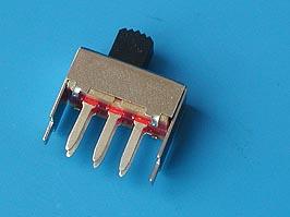Переключатель 6 конт., тип 21, 17х8 мм