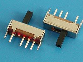 Переключатель трехпозиционный 3 конт., тип 1, 12х5 мм