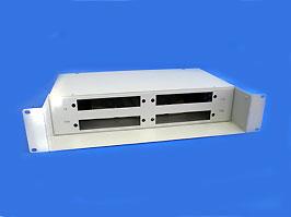 Оптический кросс 19' 2U 32 порта со сплайс касcетой (без планок)