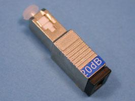 Аттенюатор SC одномодовый 20 дБ