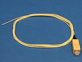 Шнур оптический SC pigtail многомодовый, Simplex,1.5м