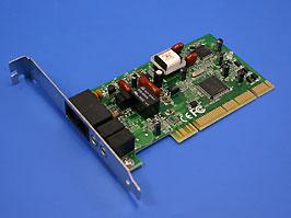 Внутренний модем 56kbps Rockwell data/fax/voice