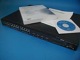 Коммутатор управляемый гигабитный PowerConnect 5224, 24*1000+4*CBIC
