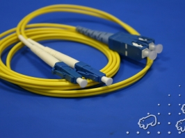 LC-SC патч-корд одномодовый, 2м (Duplex)