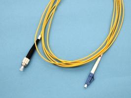 LC-FC патч-корд одномодовый, 3м (Simplex)