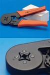 Клещи для обжима каб.наконечников на пр.10-28 AWG (0.08-6 мм^2), профиль квадрат