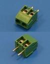 Клеммник с винтом 2 позиции, шаг 3,5мм (TL001V-2PGS)