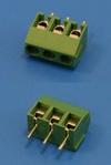Клеммник с винтом 3 позиции, шаг 3,8мм (TL100V-3PGS)