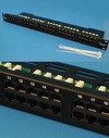 Патч-панель (Patch-panel) 19' телефонная, 50 портов, RJ-45, универсальная (PCnet)