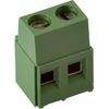 796683-2 (370-021-14) (DT128V), Клеммник 2-контактный, 5.0мм 17.5А