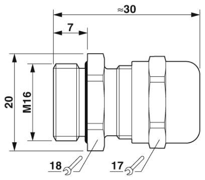 Схема EMC-MBA16-10 (аналог, производство Германия)