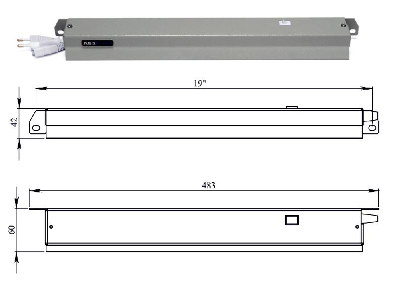 Схема Лампа освещения люминесцентная энергосберегающая, 19', 05U